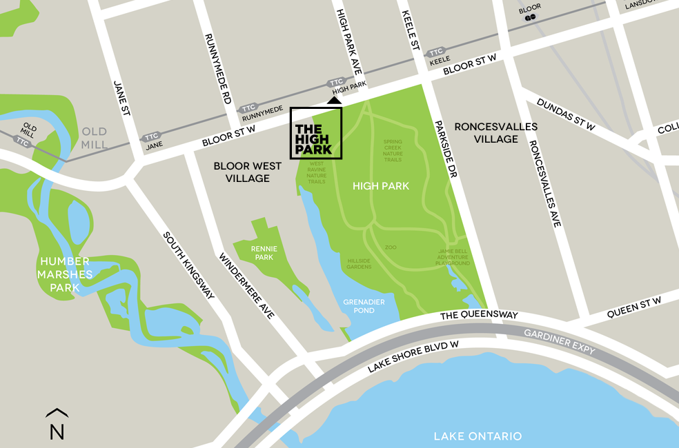 The High Park Map